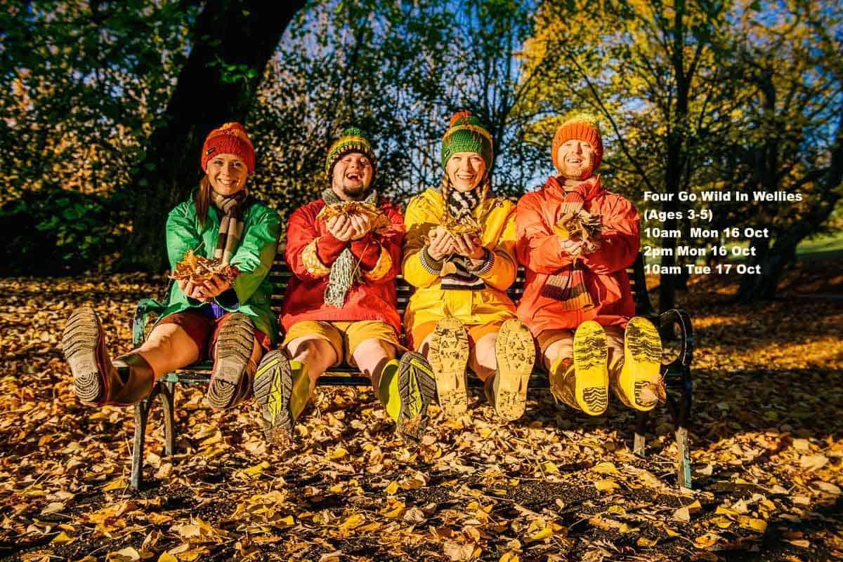 WATCH: Four Go Wild in Wellies