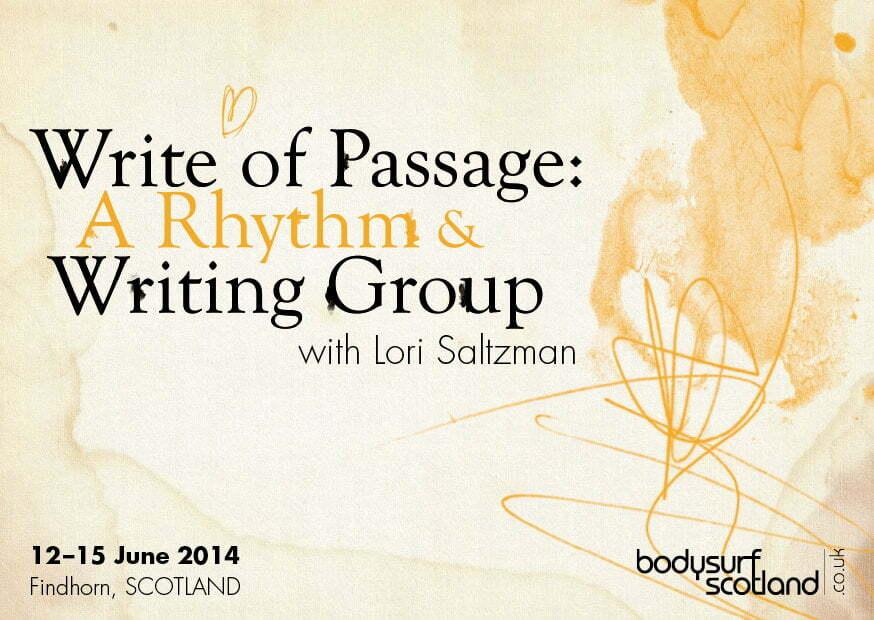DO: Write of Passage