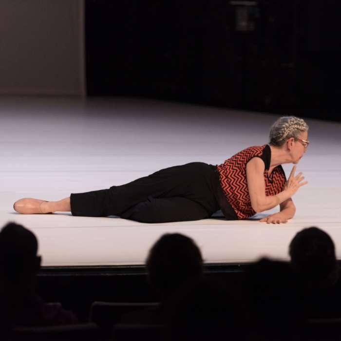 WATCH: Down to RAW : Deborah Hay : live screening & talk