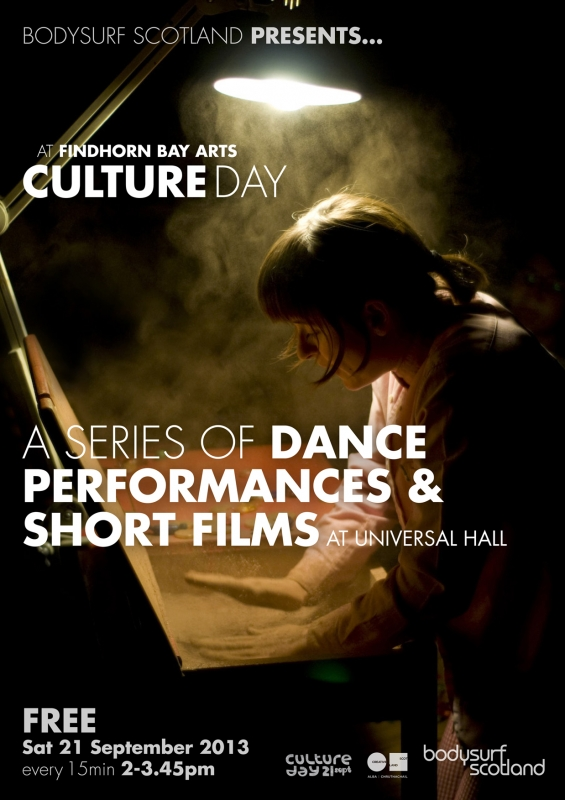 A Series of Dance Performances & Short Films – Culture Day