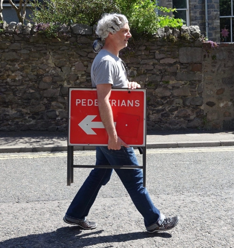 WATCH: Extremely Pedestrian Chorales on tour