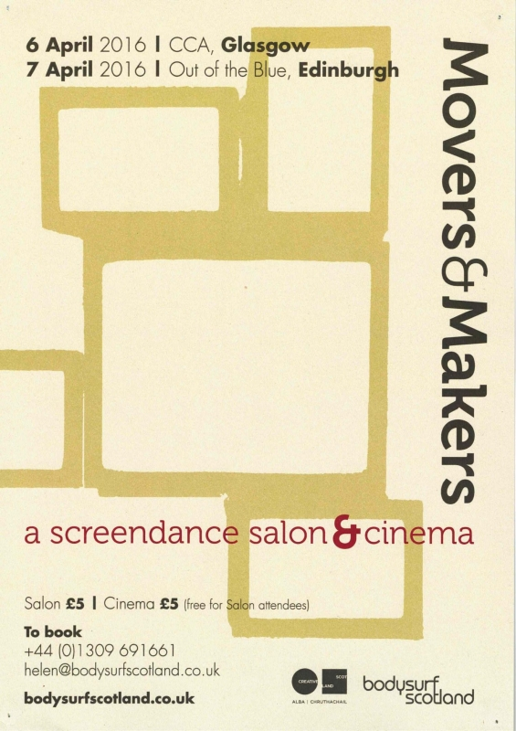 WATCH & DO:  Movers & Makers: Screendance Salon & Cinema
