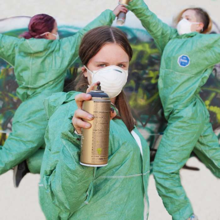 DO: Traces – a graffiti art and dance project for young people aged 12–18